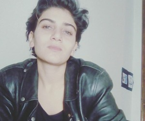androgynous, hair, and tomboy image
