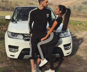 couple, love, and adidas image