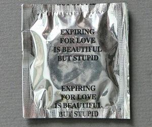 condom, silver, and gray image