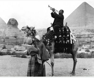 egypt, camel, and louis armstrong image
