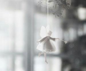 christmas, white, and angel image