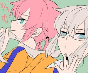 anime, kirino ranmaru, and inazuma eleven go image