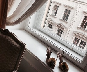 interior, heels, and shoes image