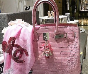 chanel, pink, and hermes image