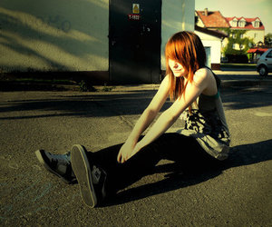 DC, vans, and girl image