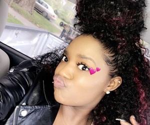 filter, hair, and makeup image