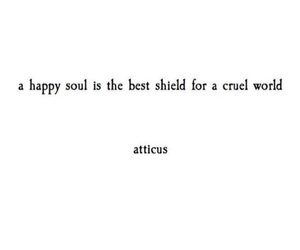 quotes, chaos, and atticus image
