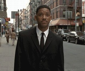 K, will smith, and reaction gifs image