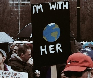 earth and protest image
