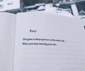 envy and grass is greener image