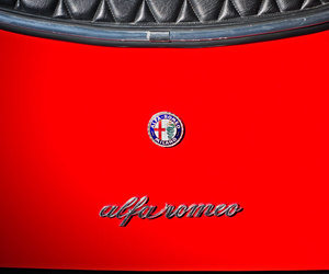 alfa romeo, cars, and red image