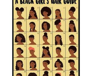 Afro, black, and black hair image