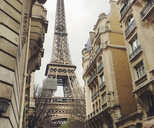 architecture, eiffel tower, and france image