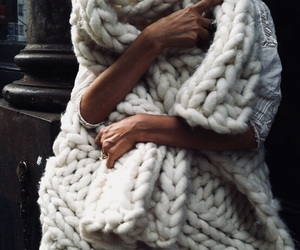 fashion, white, and winter image