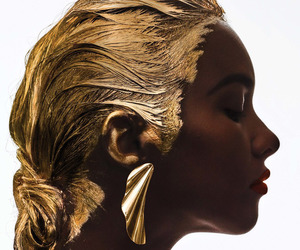 aesthetic, beauty, and gold image