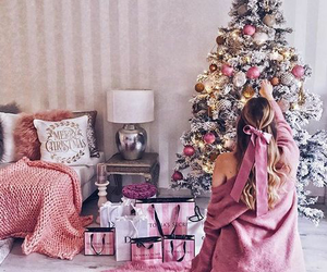 christmas, Victoria's Secret, and holiday image