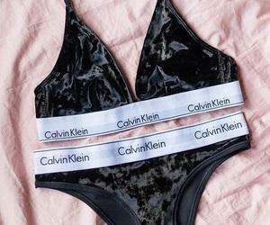 Calvin Klein, underwear, and black image