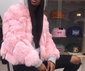 fashion, girl, and baddie image