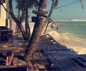 beach, sea, and Sri Lanka image