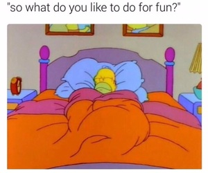 bed, fun, and funny image