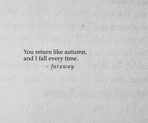 quotes, love, and autumn image