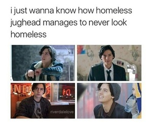 riverdale, funny, and cole sprouse image