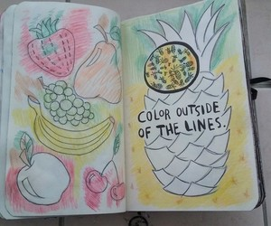 FRUiTS, pineapple, and wreck this journal image