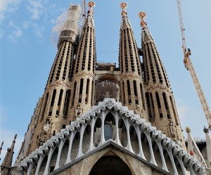 architecture, Barcelona, and building image