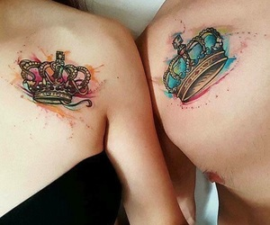 crown, goals, and tattoo image