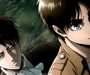 anime, boy, and levi image