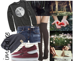 fashion, forest, and grunge image