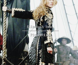 keira knightley, pirates of the caribbean, and elizabeth swan image