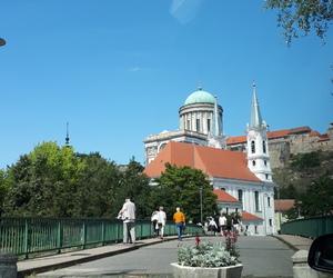 basilica, hungary, and trip image