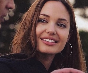 angelina, beauty, and smile image
