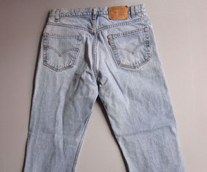 ebay, levi's, and faded image