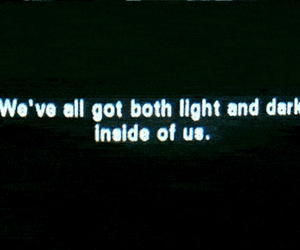 quotes, dark, and light image