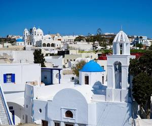 article, santorini, and tourism image