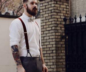 tattoo, beard, and sexy image