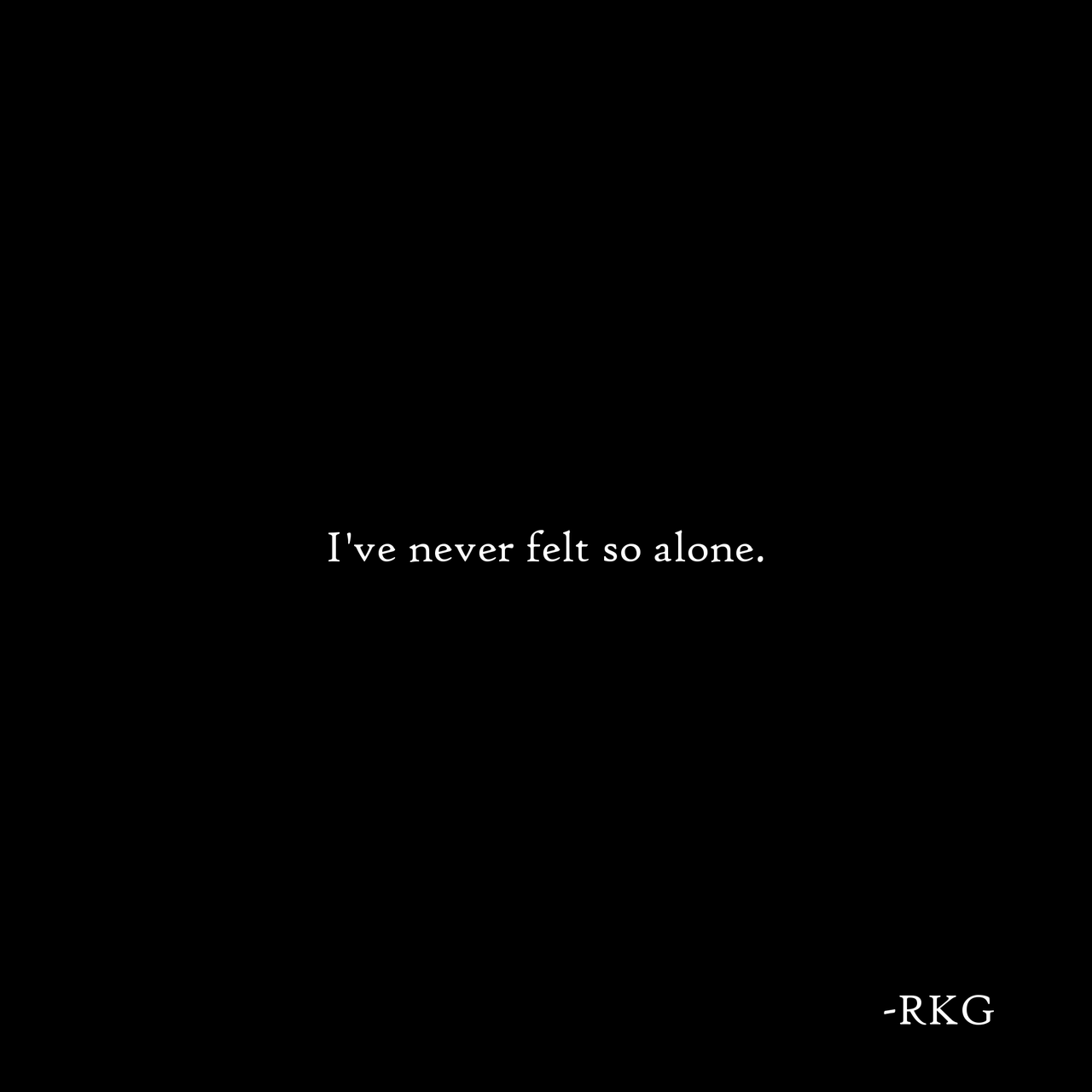 alone, black and white, and broken hearted image