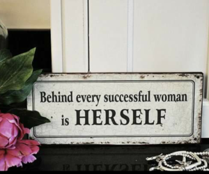 quotes, flowers, and woman image