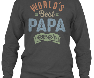 family, gift, and papa image
