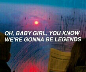 halsey, quotes, and young god image