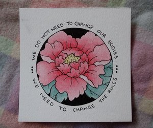 aesthetic, drawing, and quotes image