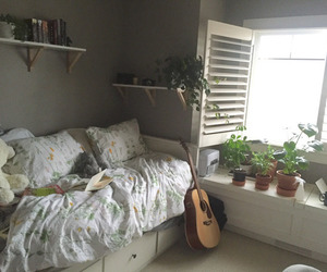 room, aesthetic, and plants image