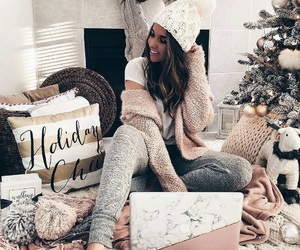 christmas, fashion, and holiday image
