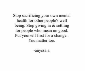quotes, mental health, and love yourself image