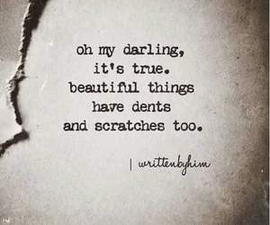 quotes, beauty, and darling image