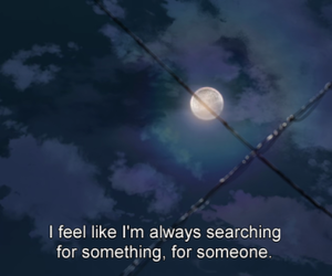 quotes, alone, and anime image