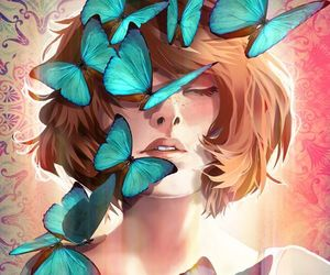 life is strange, butterfly, and game image