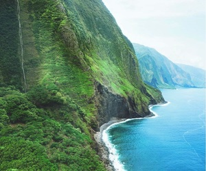 travel, hawaii, and Island image